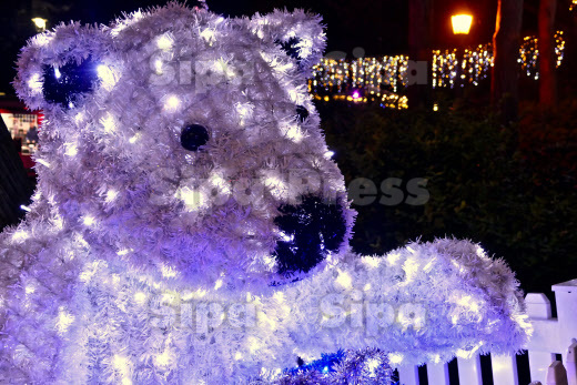 Bournemouth Christmas Tree Wonderland, Dorset, UK - 20 Nov 2019